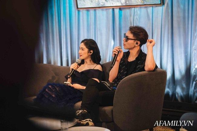 """Hoà Minzy và Erik """"tíu tít"""" trong buổi tổng duyệt, hé lộ loạt bản song ca chưa-từng-có của hai chị em """"Hoa dâm bụt"""" - Ảnh 1."""