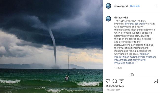 """Bức ảnh """"Ông già và biển cả"""" phiên bản Việt lọt top 1 ảnh về câu chuyện đại dương do National Geographic bình chọn và chia sẻ đầu tiên của chính tác giả - Ảnh 4."""