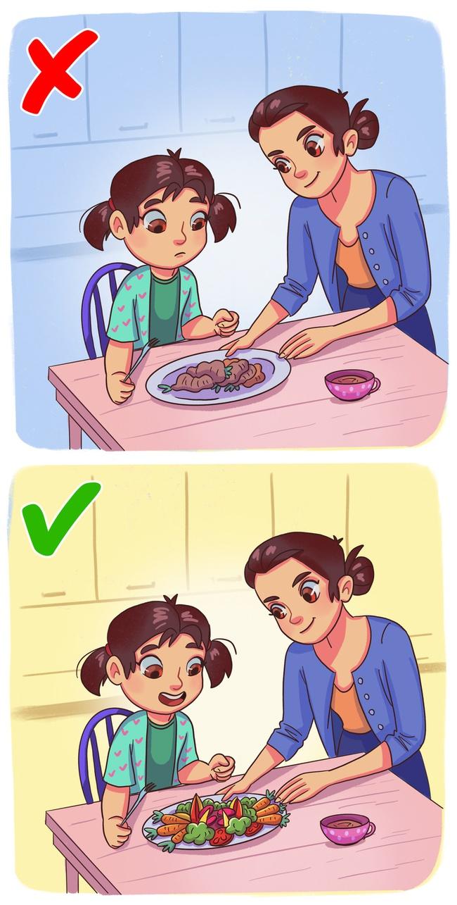 Đừng thắc mắc sao con cứ biếng ăn hoài nếu bố mẹ vẫn phạm phải những sai lầm phổ biến dưới đây trong khi cho con ăn - Ảnh 4.