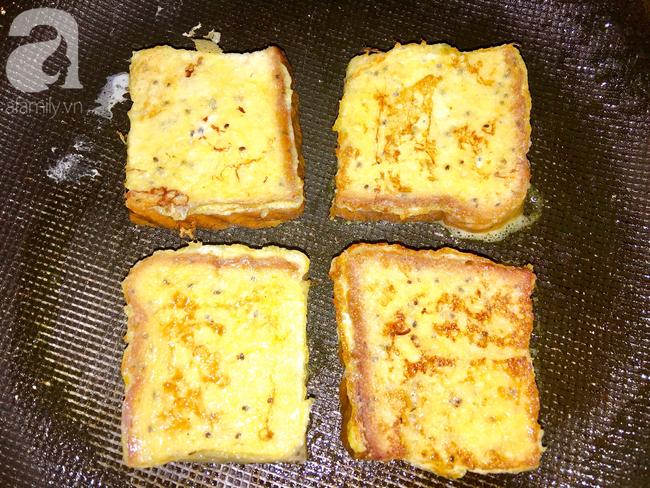 Chỉ 15 phút cũng làm được bánh mì kiểu Pháp ăn sáng cực sang chảnh - Ảnh 5.