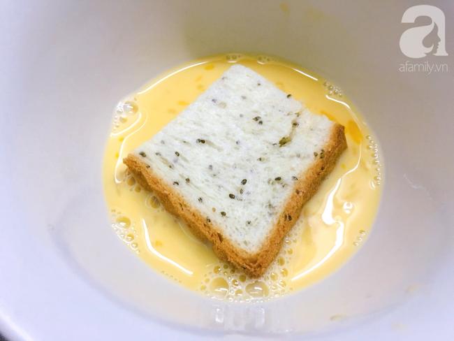 Chỉ 15 phút cũng làm được bánh mì kiểu Pháp ăn sáng cực sang chảnh - Ảnh 4.