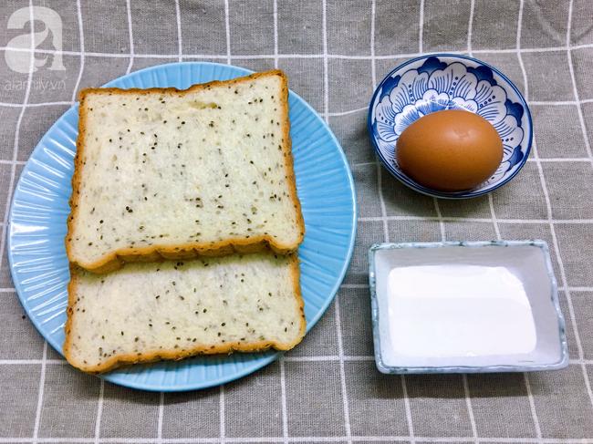 Chỉ 15 phút cũng làm được bánh mì kiểu Pháp ăn sáng cực sang chảnh - Ảnh 1.