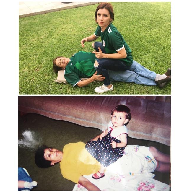 Độc đáo những bức hình chụp con lúc bé với khi lớn lên nhưng với chi tiết đặc biệt này - Ảnh 14.