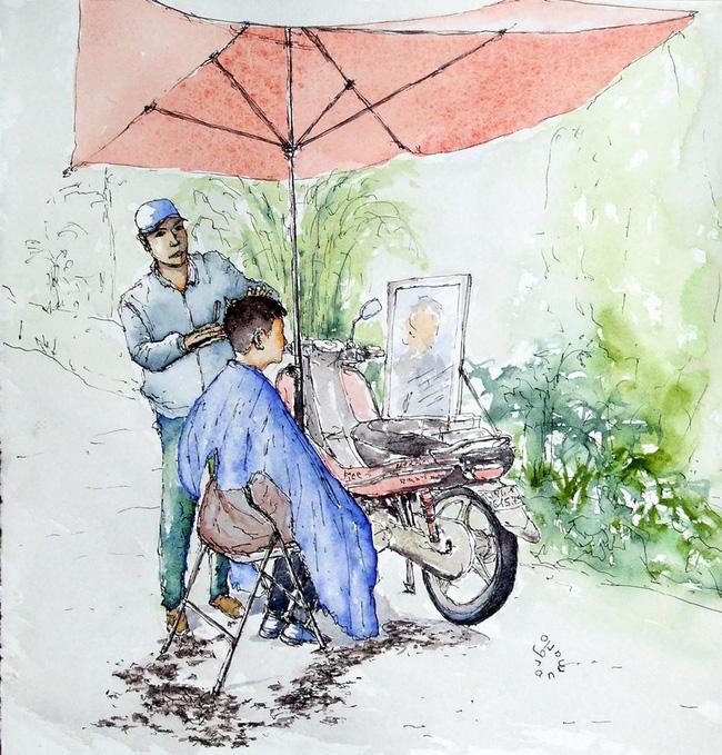 """Bộ tranh """"đẹp quá Việt Nam ơi"""" được vẽ bởi họa sĩ người Pháp  - Ảnh 2."""