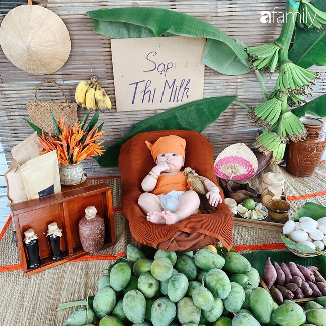 """Mẹ Sài Gòn tận dụng cây nhà lá vườn dựng bối cảnh chụp ảnh siêu yêu cho con, nhìn kho ảnh ai nấy """"phục sát đất"""" - Ảnh 7."""