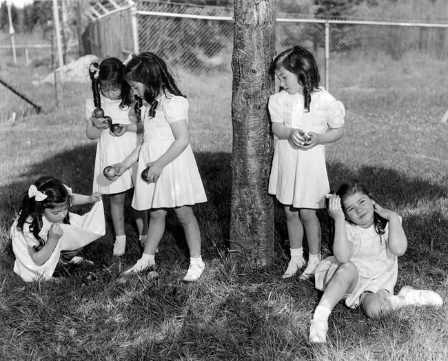 Cuộc đời đầy gian truân của 5 chị em gái trong ca sinh 5 đầu tiên vô cùng hiếm trên thế giới, trở thành trò mua vui cho thiên hạ rồi bị cha đẻ lạm dụng - Ảnh 9.