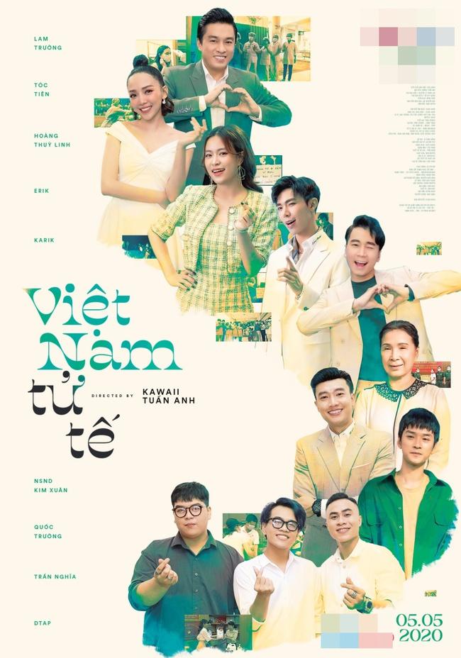 """Lam Trường, Tóc Tiên, Hoàng Thùy Linh, Erik và Karik lần đầu tiên cùng hát về người """"Việt Nam tử tế"""" - Ảnh 2."""