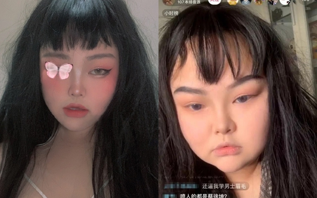 """Khi các nữ thần triệu view của Trung Quốc """"lỡ"""" lộ mặt thật trên livestream: Người được khen mặt mộc xinh xắn, kẻ mạnh mẽ phản pháo lại dư luận - Ảnh 1."""