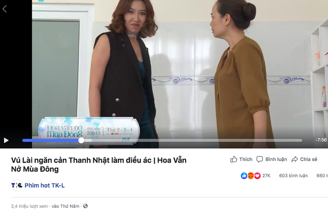 """Đóng phim giả mà Thúy Ngân - Cao Thái Hà đánh nhau thật, mỹ nữ """"Gạo nếp gạo tẻ"""" làm MXH dậy sóng vì quá ác - Ảnh 2."""