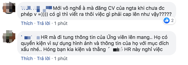 Chàng trai HR bị ném đá kịch liệt vì đăng thông tin ứng viên lên Facebook, đã thế còn bễu cợt phán xét - Ảnh 2.