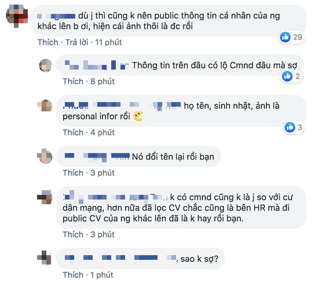 Chàng trai HR bị ném đá kịch liệt vì đăng thông tin ứng viên lên Facebook, đã thế còn bễu cợt phán xét - Ảnh 3.