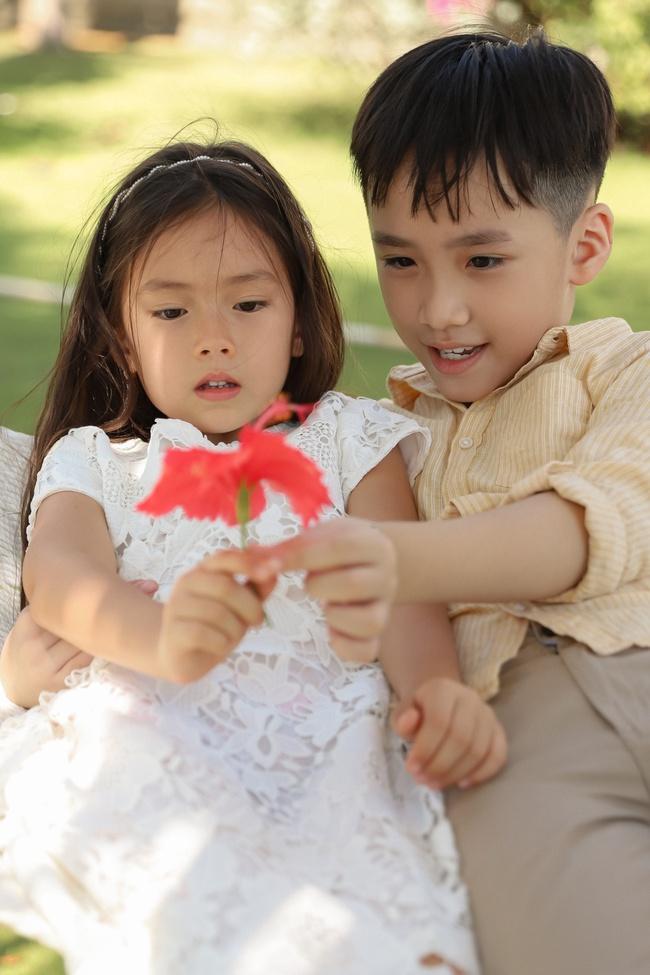 Thu Trang đẹp dịu dàng, bật cười thích thú khi con trai thân thiết với con gái Đoan Trang - Ảnh 6.