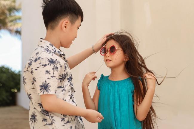 Thu Trang đẹp dịu dàng, bật cười thích thú khi con trai thân thiết với con gái Đoan Trang - Ảnh 5.