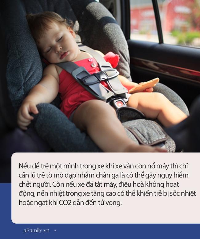 Từ vụ bé trai hôn mê vì bị bỏ quên trên ô tô và những điều bố mẹ cần ghi nhớ khi cho con đi xe giữa trời nắng nóng - Ảnh 2.