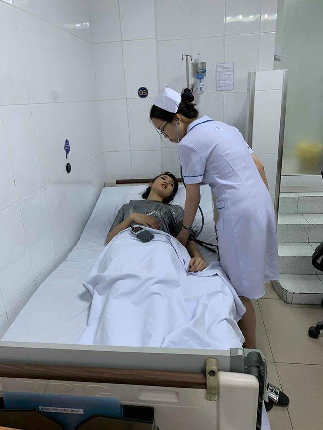 Thúy Ngân sau tai nạn dẫn đến bất tỉnh đi cấp cứu: Bị chấn thương cổ, gãy mũi, bác sĩ khuyên phải PTTM - Ảnh 4.