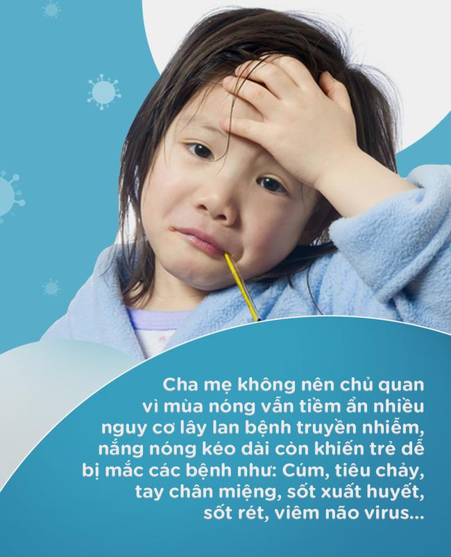 Cho con đi học giữa những ngày nắng nóng đỉnh điểm, đây là những điều bố mẹ cần lưu tâm để trẻ không bị ốm - Ảnh 1.