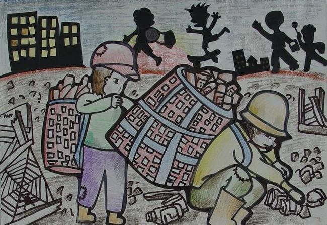 Vấn nạn lao động trẻ em: Ai cũng lên án và cấm đoán nhưng không biết rằng sự thật khiến các em đánh mất tuổi thơ là gì? - Ảnh 1.