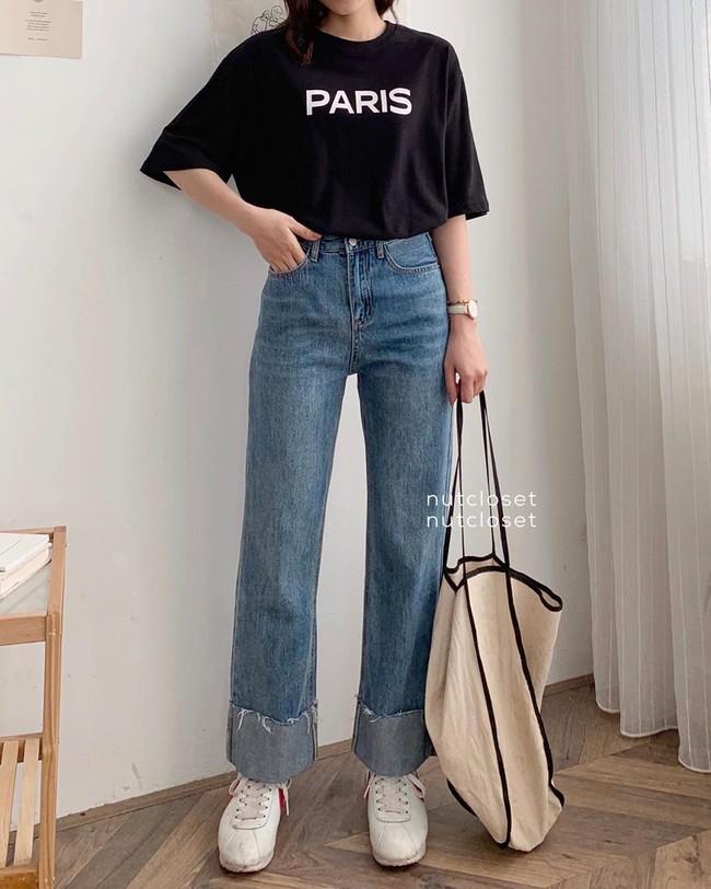 """Các mỹ nhân 8x của Vbiz cực kết một mẫu quần jeans hack tuổi siêu phàm, ai diện lên cũng trẻ và """"ăn chơi"""" hẳn - Ảnh 11."""