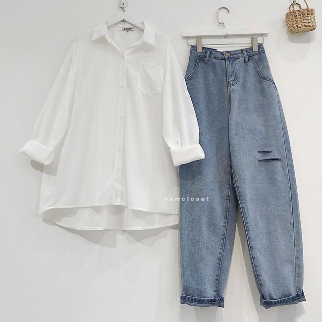 """Các mỹ nhân 8x của Vbiz cực kết một mẫu quần jeans hack tuổi siêu phàm, ai diện lên cũng trẻ và """"ăn chơi"""" hẳn - Ảnh 5."""