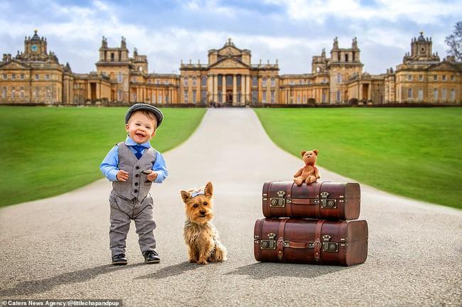 Tan chảy với những hình ảnh siêu cấp đáng yêu giữa cậu bé 2 tuổi và chú chó cưng - Ảnh 16.