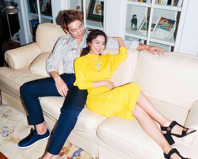 """Không chỉ quyền lực, vợ chồng Kim Tae Hee - Bi Rain còn giàu """"nức đố đổ vách"""", hai cô con gái chính là thiên kim tiểu thư hạng nhất xứ Hàn - Ảnh 6."""