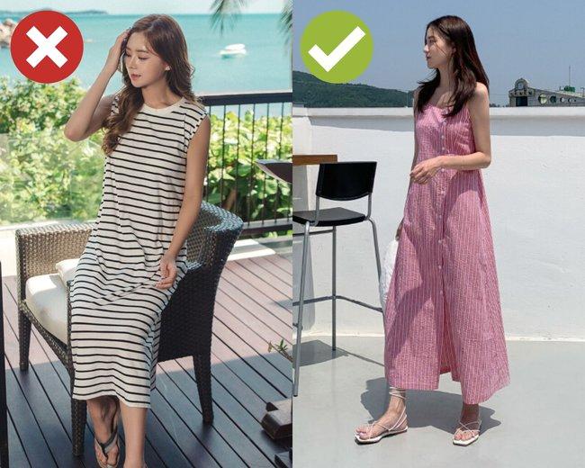 """3 kiểu váy hai dây chị em thấy thì """"auto"""" bỏ qua vì dễ biến vẻ ngoài thành quê kiểng, hoặc trông như diện đồ ngủ - Ảnh 2."""