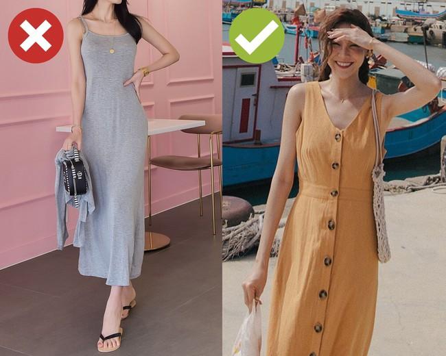 """3 kiểu váy hai dây chị em thấy thì """"auto"""" bỏ qua vì dễ biến vẻ ngoài thành quê kiểng, hoặc trông như diện đồ ngủ - Ảnh 1."""