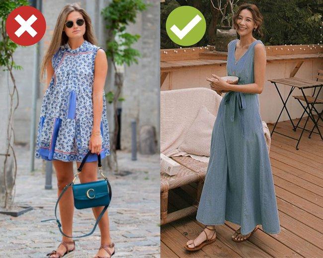 """3 kiểu váy hai dây chị em thấy thì """"auto"""" bỏ qua vì dễ biến vẻ ngoài thành quê kiểng, hoặc trông như diện đồ ngủ - Ảnh 4."""