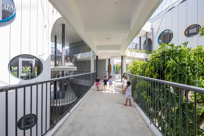 Ngắm ngôi trường mầm non hơn 50 tỷ đồng với thiết kế đẹp như mơ, bố mẹ ưng ngay từ cái nhìn đầu tiên - Ảnh 8.