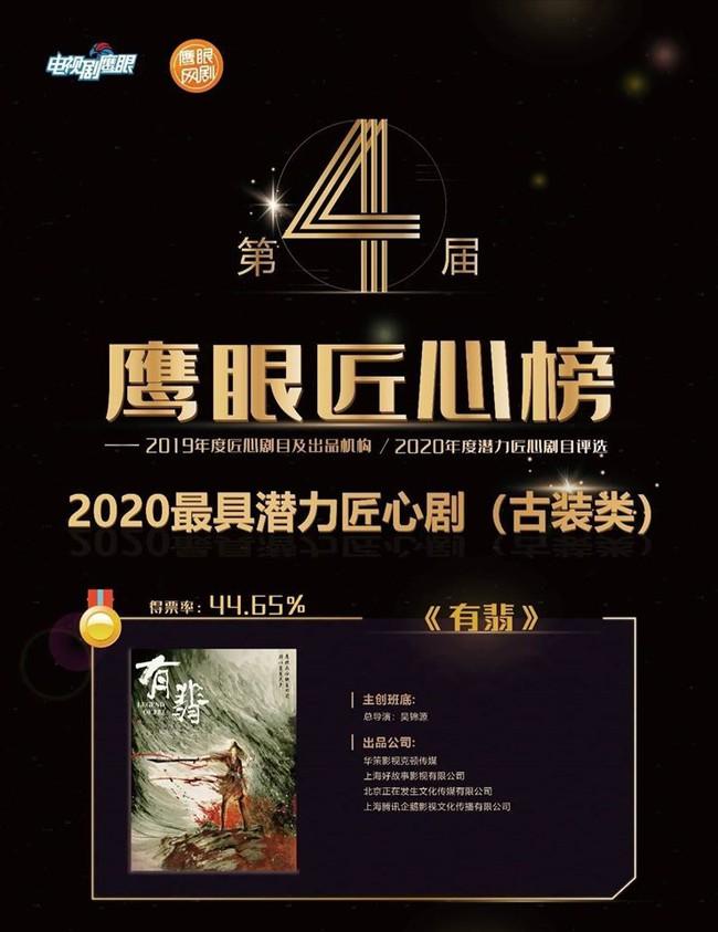 """Mặc ồn ào đạo nhái """"Sở Kiều truyện"""", Triệu Lệ Dĩnh vẫn thẳng tiến giành giải thưởng lớn cùng """"Hữu Phỉ"""" - Ảnh 3."""