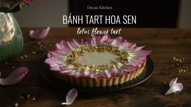 Đang mùa sen nở rộ, học ngay cách làm món bánh tart sen vừa ngon lại vừa đẹp  - Ảnh 1.