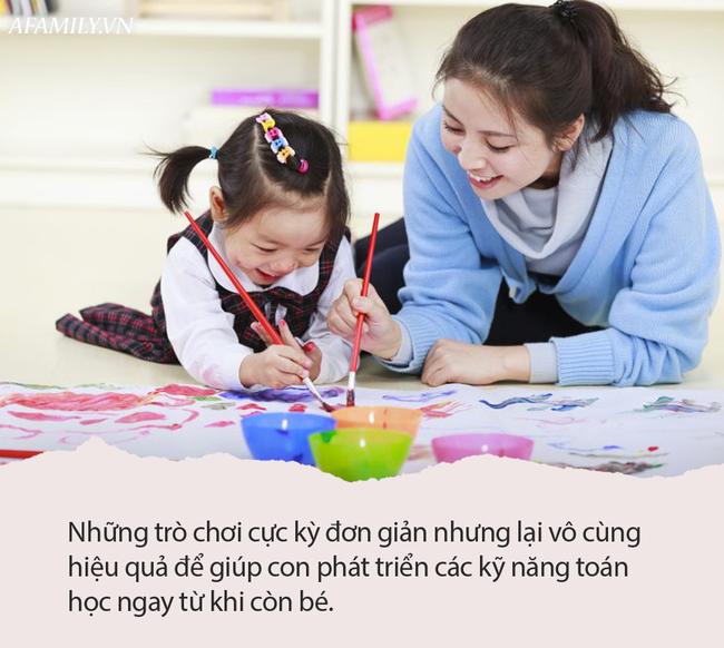 Muốn con lớn lên làm toán nhoay nhoáy như thần đồng, bố mẹ chỉ cần chăm chỉ chơi với con trò này mỗi ngày  - Ảnh 3.
