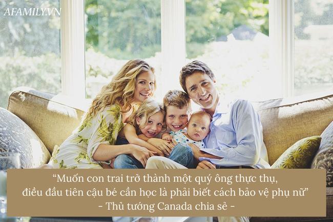 """""""Ủng hộ nữ quyền!"""" - Lời khuyên sâu sắc của thủ tướng Canada dành cho bố mẹ đang tìm cách để nuôi dạy con trai trở thành những quý ông thực thụ trong tương lai - Ảnh 3."""