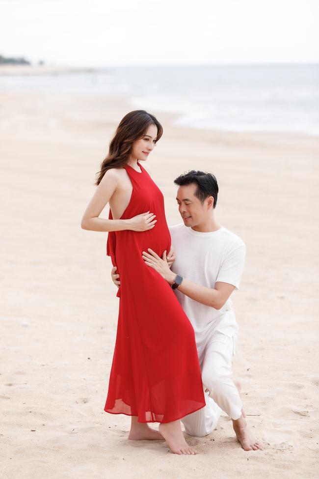 Sara Lưu - Dương Khắc Linh tiết lộ đã mang song thai 4 tháng, vợ chồng rủ nhau đi du lịch từ trong nước ra nước ngoài liên tục - Ảnh 7.