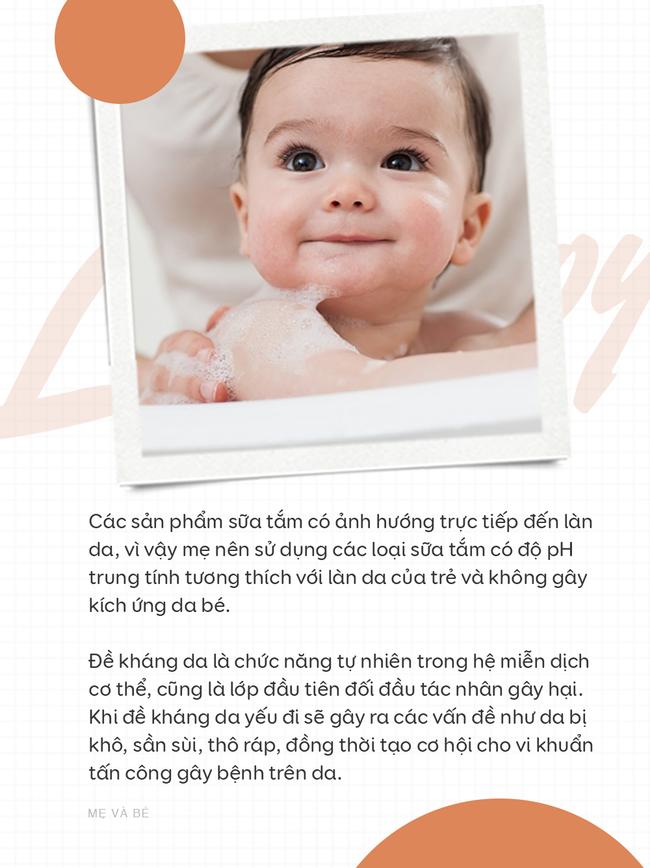 Khi chọn sữa tắm cho trẻ, mẹ cần lưu ý những điều sau đây - Ảnh 1.