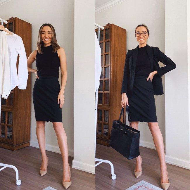 """Nàng fashion blogger chỉ cho chị em cách lên đồ công sở chuẩn """"pro"""" mà vẫn max sành điệu chỉ với vài items cơ bản - Ảnh 2."""