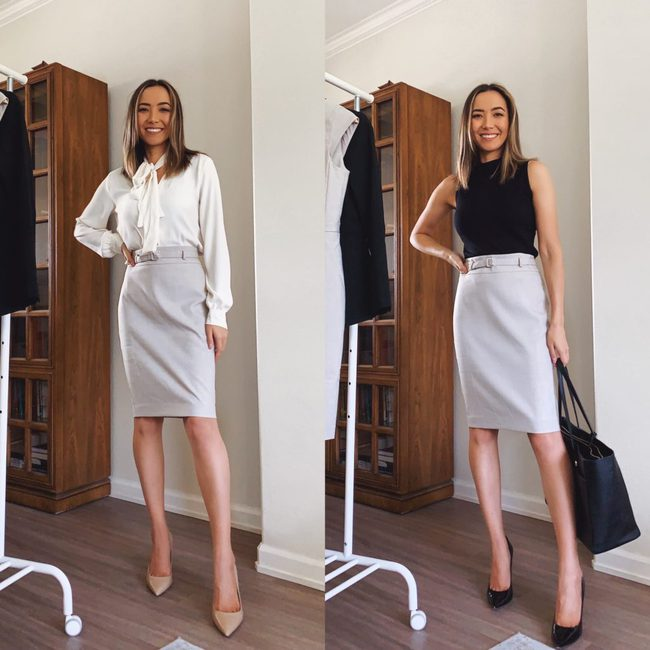 """Nàng fashion blogger chỉ cho chị em cách lên đồ công sở chuẩn """"pro"""" mà vẫn max sành điệu chỉ với vài items cơ bản - Ảnh 5."""