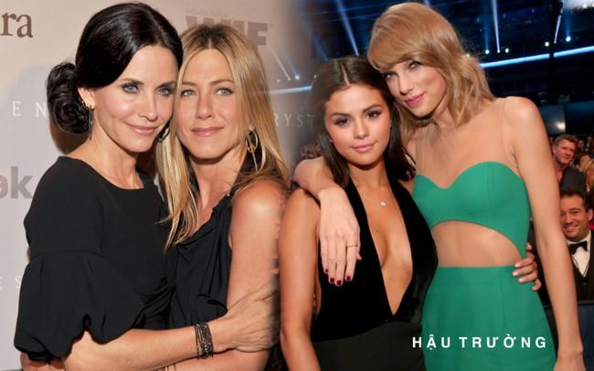 """Khi các sao Hollywood hẹn hò tình cũ của bạn thân: Selena Gomez vẫn giữ được tình chị em thân thiết, Jennifer Aniston và Courteney Cox từng """"nghỉ chơi"""" nhau - Ảnh 1."""