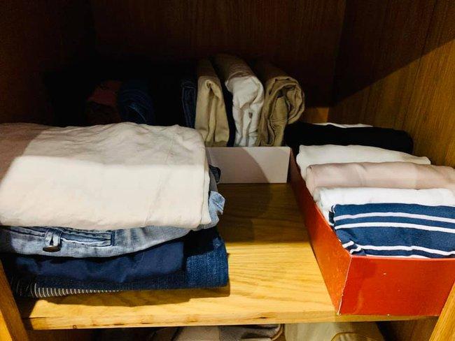 Thử thách tối giản tủ quần áo cực kỳ khó nhằn và đây là hành trình chân thực đến từng chi tiết của quý cô Sài Thành - Ảnh 11.