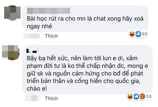 Dân mạng lên tiếng việc ngưng chia sẻ hình ảnh tin nhắn chuyện yêu đương của Quang Hải vì hành vi xâm phạm quyền cá nhân của hacker - Ảnh 5.