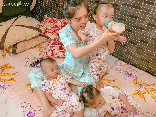 """Cuộc sống hiện tại của bà mẹ từng bất chấp nguy hiểm để sinh ba: Cả nhà """"đuối"""" vì chăm các bé, mỗi tháng tốn 25 triệu đồng - Ảnh 7."""