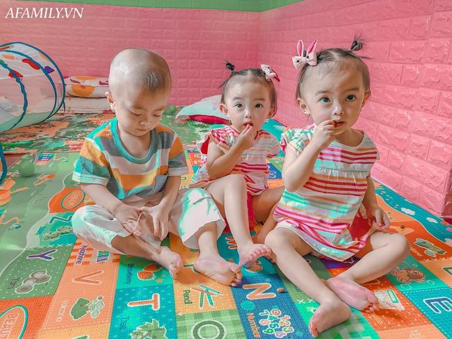 """Cuộc sống hiện tại của bà mẹ từng bất chấp nguy hiểm để sinh ba: Cả nhà """"đuối"""" vì chăm các bé, mỗi tháng tốn 25 triệu đồng - Ảnh 6."""