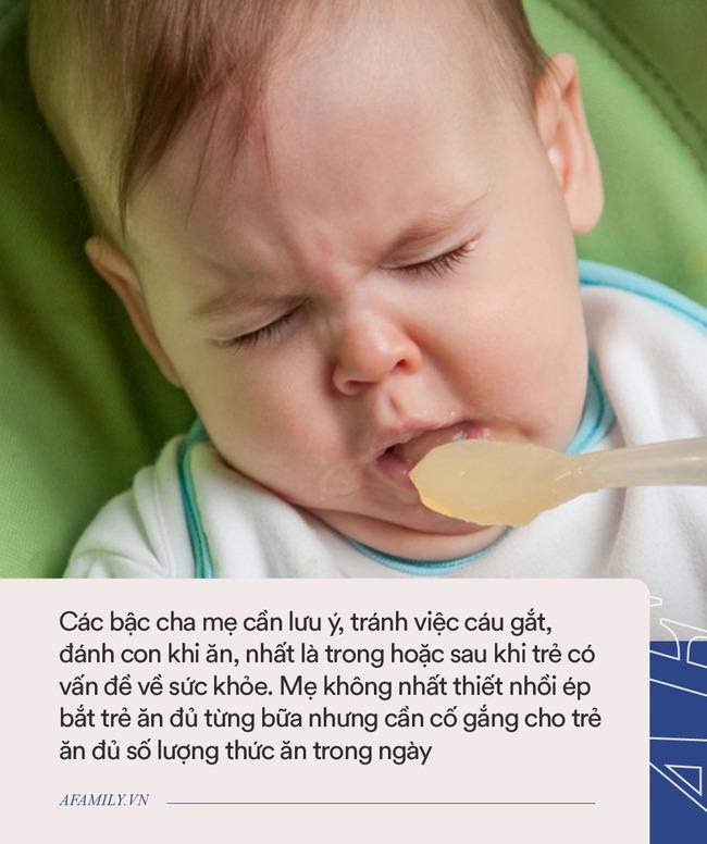 8 kiểu nhồi nhét khiến trẻ thêm gày ốm, biếng ăn trong những ngày nắng nóng - các mẹ nên từ bỏ ngay! - Ảnh 6.