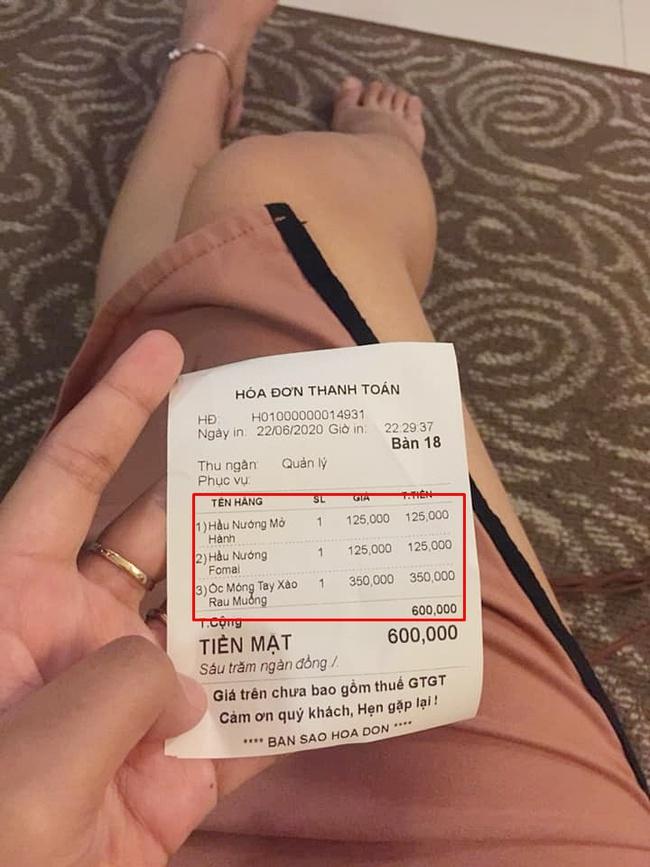 """Đi Nha Trang du lịch, cô gái giận """"phát ói"""" vì gặp quán hải sản chặt chém: 350k/ đĩa móng tay xào rau muống, thêm đĩa hàu sống thành 600k - Ảnh 2."""