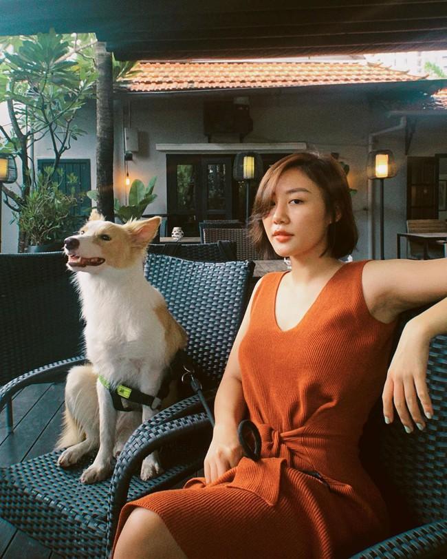 Văn Mai Hương nói: Kiếm được con ghẹ mới cũng xinh, thông minh lại còn tên là Mát.