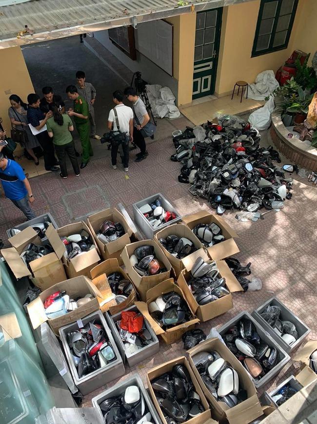 Mục sở thị nhóm trộm và hằng nghìn cặp gương và phụ tùng ô tô bị vặt tại Hà Nội - Ảnh 1.