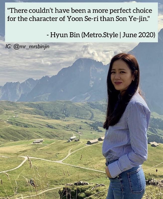 """Lục lại những lần chia sẻ về """"cô bạn thân"""" trước truyền thông, dân tình vô tình phát hiện Hyun Bin từng có câu nói cực đáng yêu này với Son Ye Jin - Ảnh 1."""