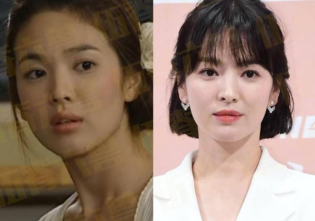 5. Song Hye Kyo: Trong suốt 20 năm, Song Hye Kyo vẫn luôn là nữ diễn viên hàng đầu Hàn Quốc, cô cũng được đánh giá cao bởi khả năng chọn kịch bản ấn tượng, trong tay cô cũng có nhiều tác phẩm thành công vang dội. Nhưng dù sự nghiệp có thành công thế nào thì cũng chẳng thể che khuất được đường tình duyên trắc trở, cô từng có cuộc hôn nhân với Song Joong Ki cùng nhiều mối tình kết thúc không trọn vẹn.