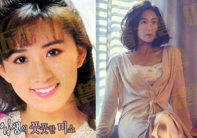 8. Kim Hee Ae: Đóng phim khi còn ngồi trên ghế nhà trường, Kim Hee Ae nhanh chóng trở thành diễn viên nổi tiếng cuối thập niên 80 và đầu thập niên 90. Mặc dù ngoại hình không phải lợi thế của Kim Hee Ae nhưng diễn xuất của cô đã chinh phục được khán giả. Bộ phim Thế giới hôn nhân mới đây của cô đã gây sốt trong suốt khoảng thời gian chiếu.