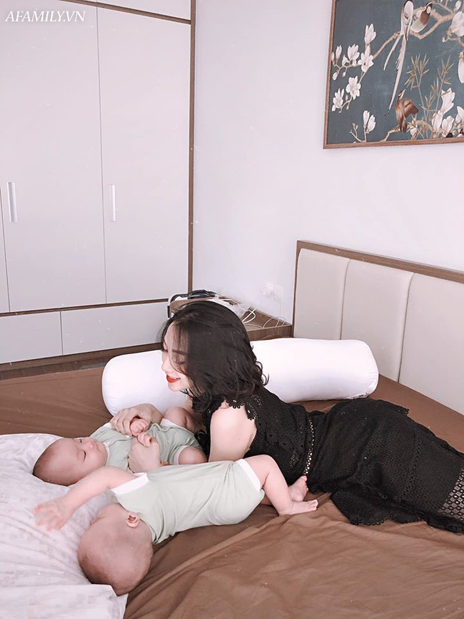 Từng vác bụng bầu sinh đôi to như cái trống, sinh xong mẹ 9x khoe dáng đẹp đến mức gái độc thân còn phải xuýt xoa - Ảnh 12.